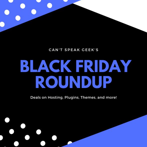 2019 Black Friday Deals Can T Speak Geek
