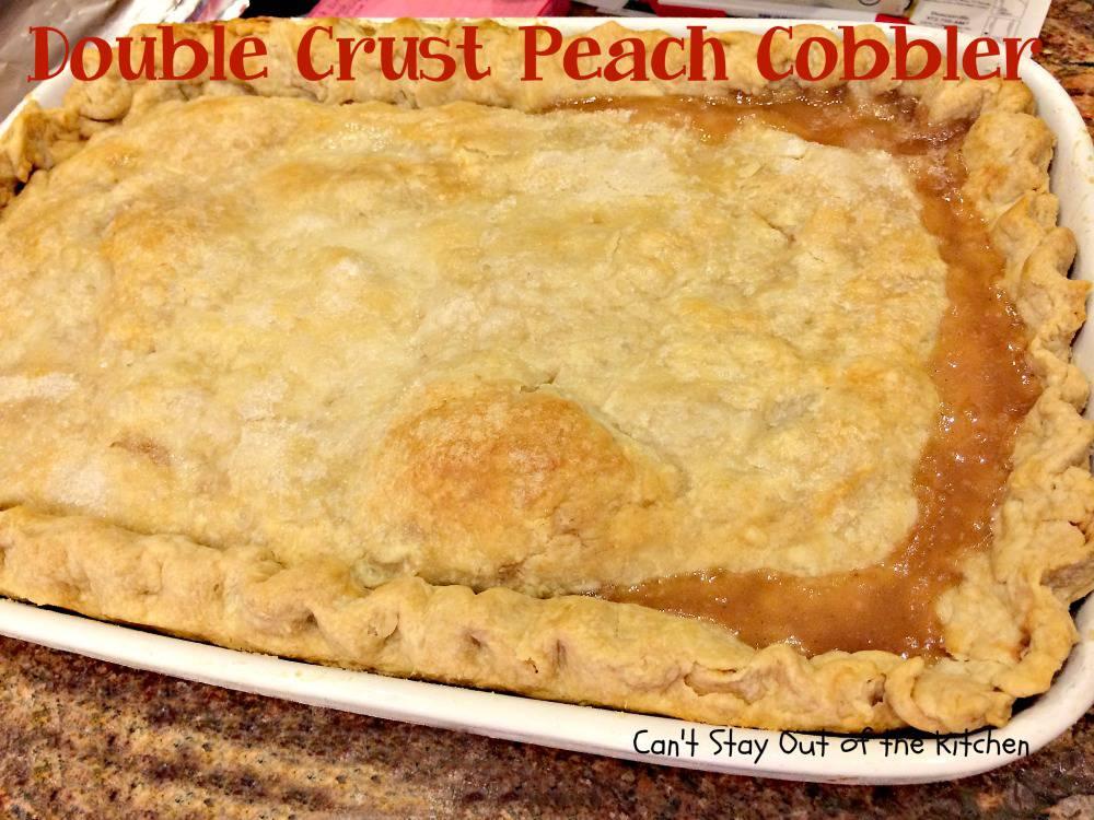 Old Fashioned Peach Cobbler Scratch