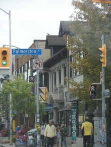 At Palmerston and Bloor, cultures converge.