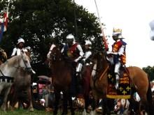 Richard III and his men