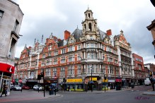 Built in a Franco-German Renaissance style the Grand Hotel dates from 1896-1898. It sits on the border of the wider, Victorian period Granby Street and the narrower and somewhat older Gallowtree Gate end of Granby.