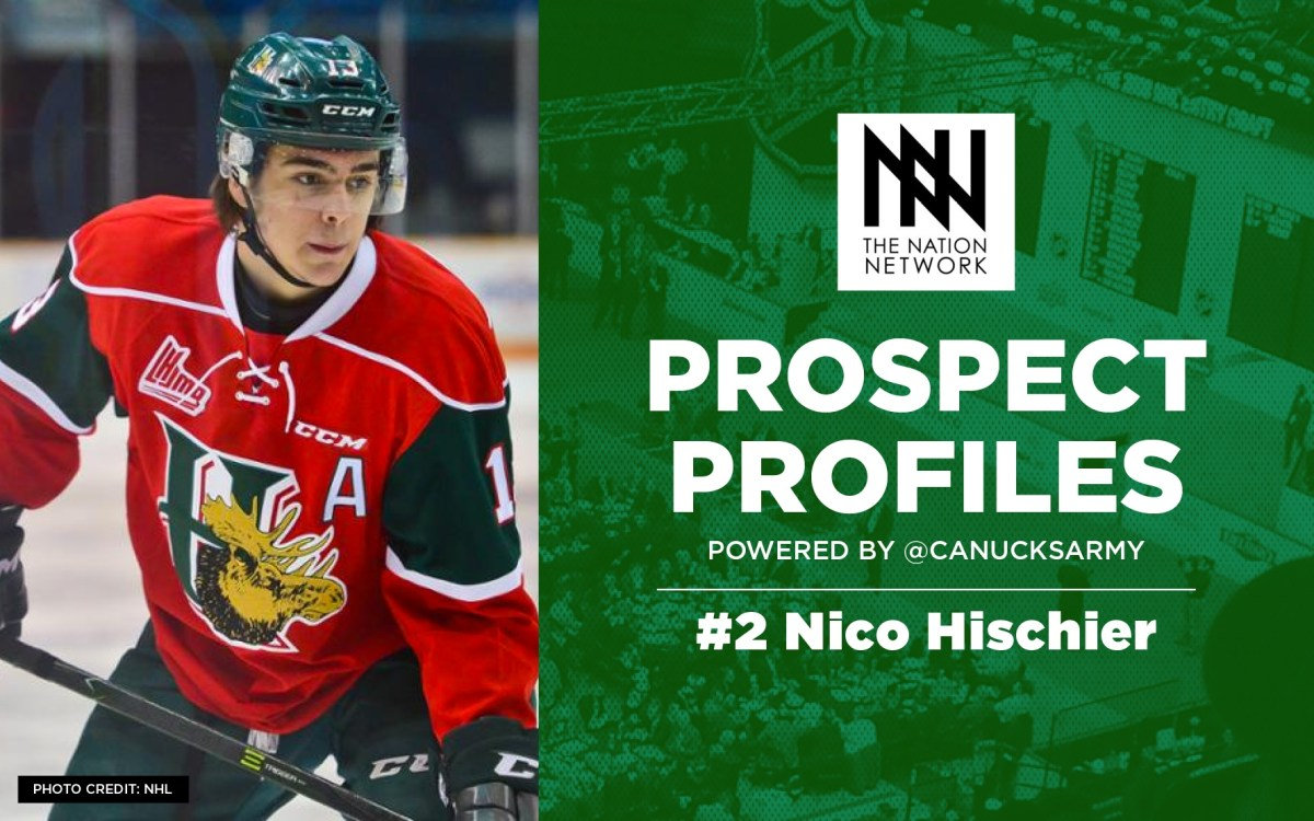 4e0b28f61e8 The Top 100 NHL Draft Prospects: #2 – Nico Hischier