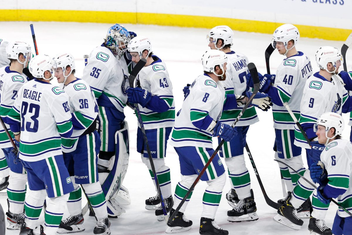 CanucksArmy post game: Demko rides high, Hoglander does the thing, and Nate Schmidt finally gets some puck luck in Canucks win