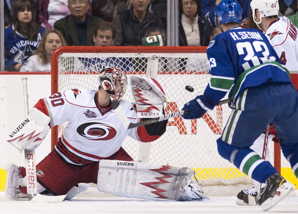 Canucks play in Raleigh Carolina Sunday Nov. 30th at 10 am pst.