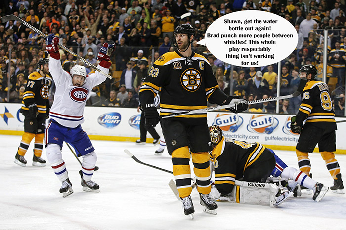 Brendan Gallagher, Zdeno Chara