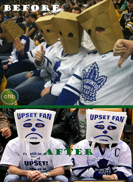 Toronto Maple Leafs disgruntled fans