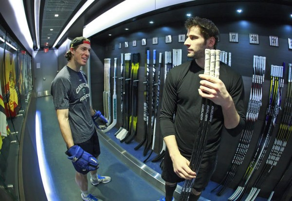 David Booth and Ryan Kesler