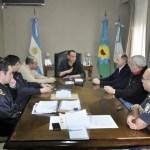 Por indicación de la intendenta Marisa Fassi, el diputado nacional Gustavo Arrieta conformó una nueva Mesa de Coordinación Operativa de Seguridad