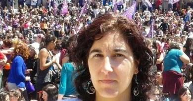 En el marco de la jornada contra los femicidios y la violencia de género convocada por decenas de organizaciones, Nathalia Gonzalez Seligra,
