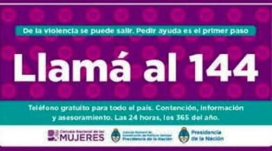 Cañuelas, Movistar Personal y Claro anunciaron la gratuidad de la línea 144, contra la violencia de género.