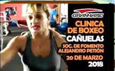 Clínica de la quíntuple campeona del mundo Alejandra Locomotora Oliveras en la Sociedad de Fomento de Alejandro Petion Cañuelas.