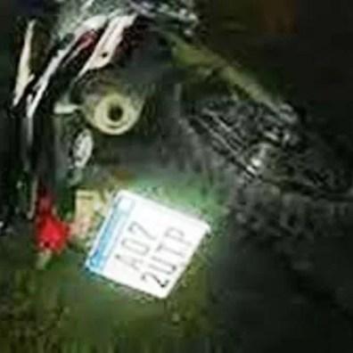 , Cañuelas  Ruta Nacional N°:205 un rollo de Alambre provocó un accidente., Cañuelas Noticias de Argentina