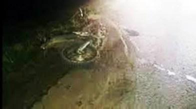 Cañuelas  Ruta Nacional N°:205 un rollo de Alambre provocó un accidente.