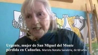 """Urgente, mujer de """"San Miguel del Monte"""" tirada por un Patrullero Policial de MONTE   en Cañuelas."""