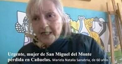 Urgente, mujer de San Miguel del Monte tirada por un Patrullero Policial de MONTE en Cañuelas.