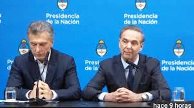 Macri culpo a la gente que voto al Peronismo, por su desastre económico de su Gobierno.