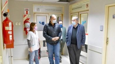 El Ministro de seguridad de la Provincia de Buenos Aires Berni visitó Tandil y supervisó el funcionamiento del comité de crisis por el COVID-19.