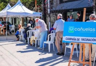 Cañuelas , el Municipio vacunó a mayores de 65 años en la zona bancaria