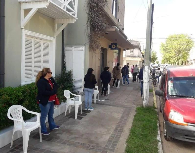 , Cañuelas , Campaña de voluntariado durante el operativo de cobro de Jubilados., Cañuelas Noticias - Noticias de Argentina