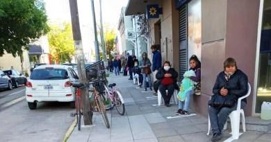 , Cañuelas , Campaña de voluntariado durante el operativo de cobro de Jubilados., Cañuelas Noticias-CNoticias de Argentina