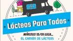 Cañuelas hoy miércoles 13 Barrio Libertad  y el Barrio los Aromos, lácteos para todos a partir de las 9:00 horas.