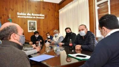 """Guaminí  logro de los ciudadanos y el cuidado del intendente sobre su pueblo"""" remarcó Berni"""