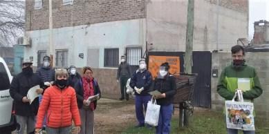 Cañuelas, Vacunación antirrábica en el barrio Libertad.