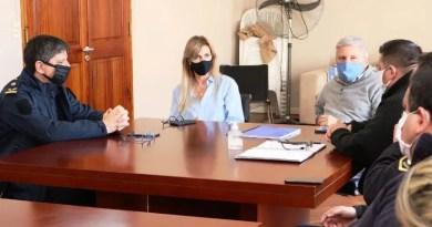 , Cañuelas Fassi, en un encuentro con la cúpula de Seguridad local., Cañuelas Noticias de Argentina