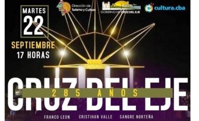 Córdoba: Cruz del Eje cumple 285 años