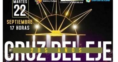 , Córdoba: Cruz del Eje cumple 285 años, Cañuelas Noticias-CNoticias de Argentina