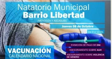 Cañuelas: Operativos de vacunación y salud en barrios y localidades.