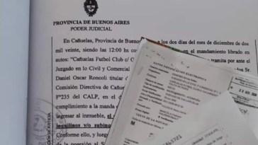 Cañuelas, el CFC recuperó legalmente el predio de Tenis de el Cajón.