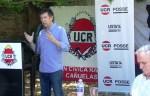Cañuelas-Gustavo Posse anuncio la separación de los Radicales con el Pro de Macri