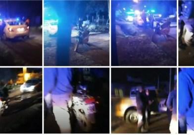 Cañuelas – La Policía le saco la moto a un laburante que repartía leña a domicilio.