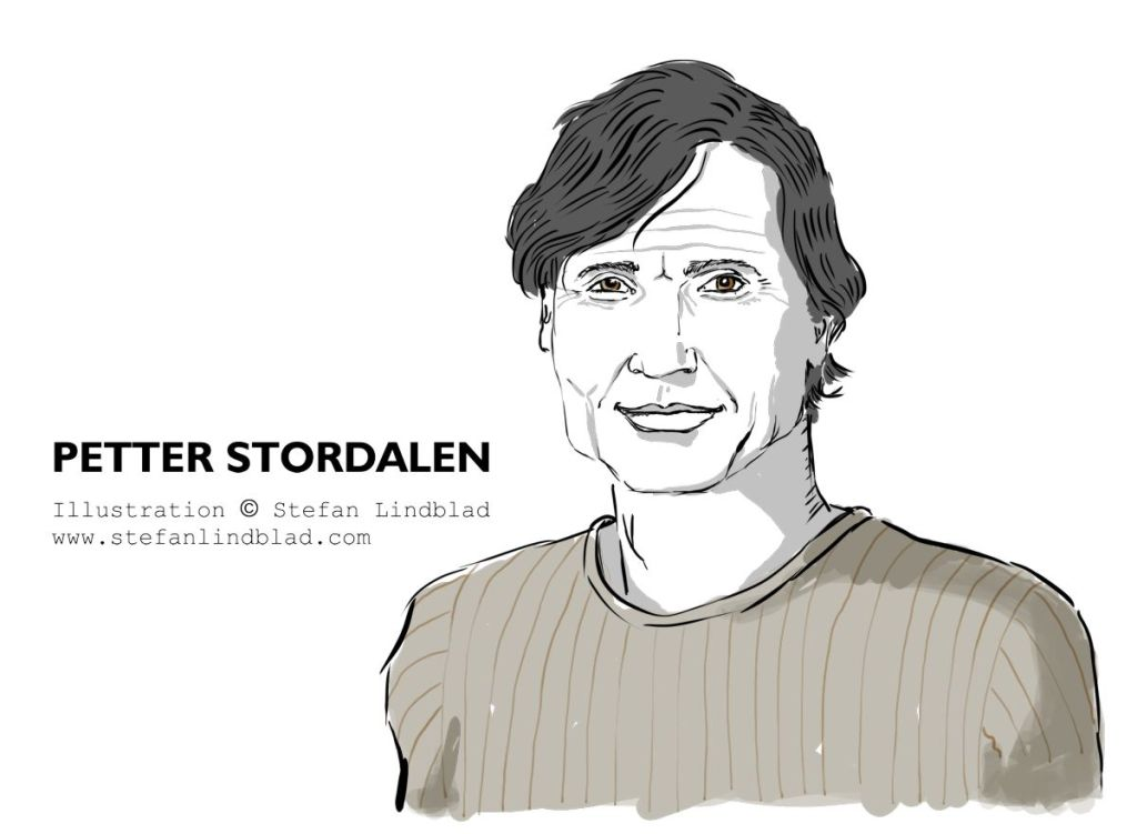 Illustrator, Stefan Lindblad, Corel Painter, Kommunalarbetaren, illustration, Portrait, Petter Stordalen, november, 2018,