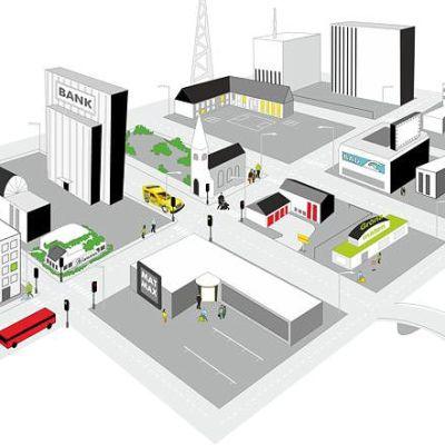 Illustratör Stefan Lindblad, vektor illustration, vector, CorelDRAW, Corel, editorial, magazine, MultiCom Security, Addsecure