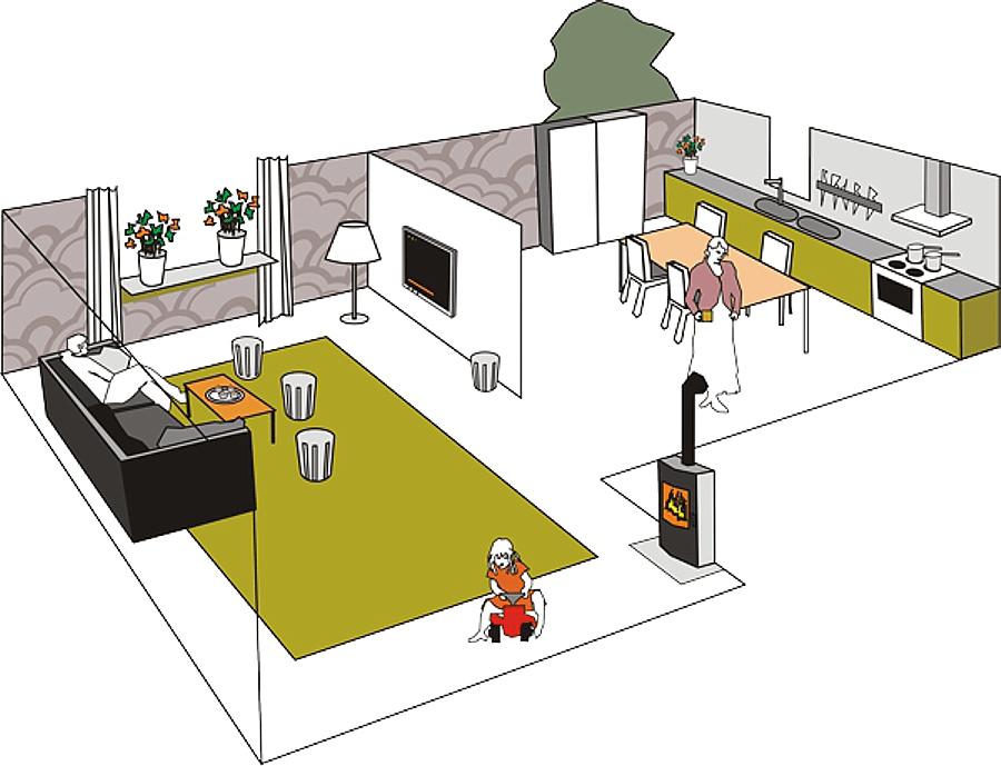 Illustratör Stefan Lindblad, vektor illustration, vector, CorelDRAW, Corel, editorial, magazine, Brandskyddsföreningen