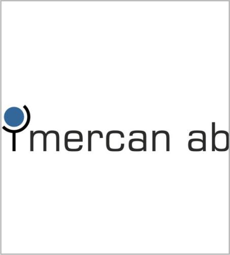 Mercan AB, Logotyp, design, redesign, Stefan Lindblad