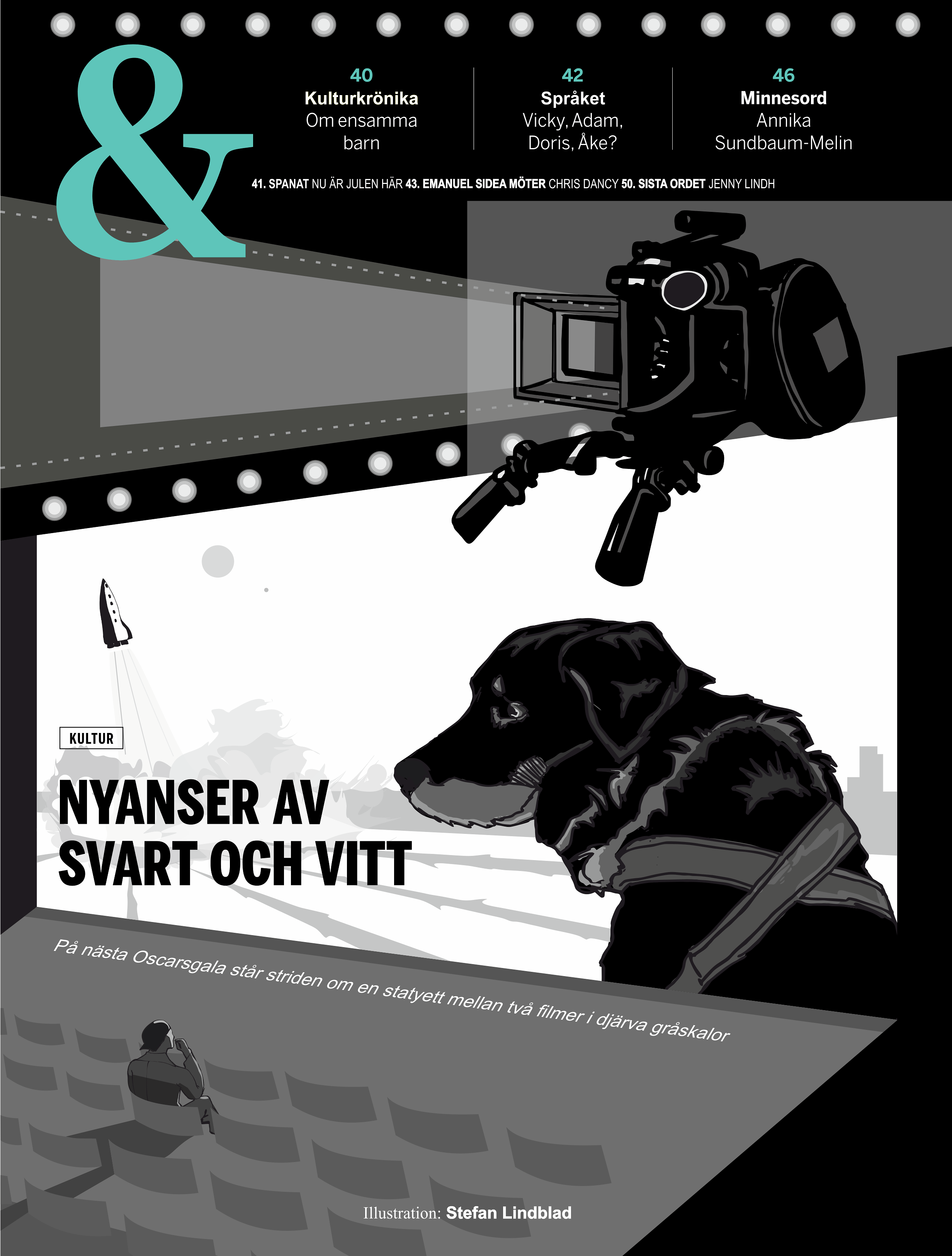 Illustratör, Illustrator, Stefan Lindblad, CorelDRAW Tidningen Fokus, nyhetstidningen, illustration, november, 2018