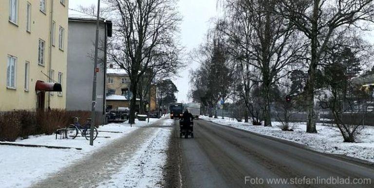 Vinter och plogning i Stockholm – en bisarr historia