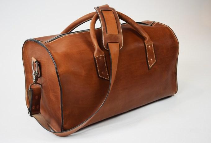 leather bag duffel