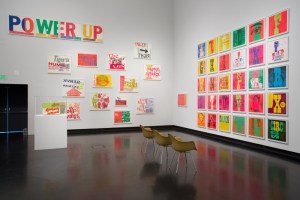 Installation view, Someday Is Now: The Art of Corita Kent, Tang Teaching Museum at Skidmore College, 2013. Courtesy of the Tang Museum at Skidmore College and Corita Art Center, Los Angeles.