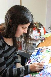 Artist Amy Casey