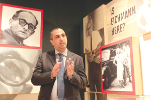 """Career Mossad agent Avner Avraham discusses Adolf Eichmann's clandestine residency in Argentina at """"Operation Finale."""""""