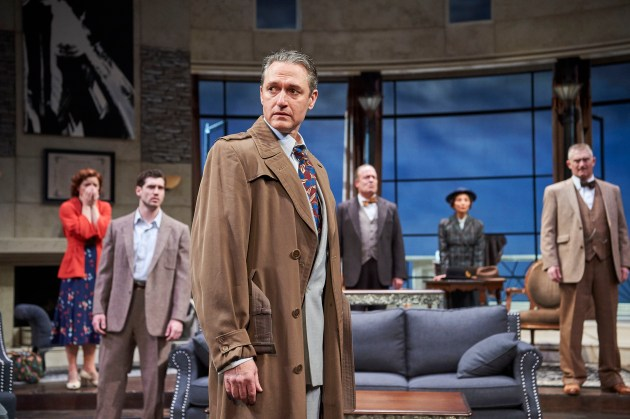 """The ensemble of """"And Then There Were None."""" PHOTO   Roger Mastroianni"""