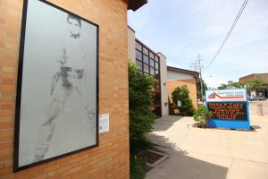 """Single Elvis"" by Andy Warhol was on view during the summer at the Firestone Park branch of the Akron-Summit County Public Library in Akron as part of the Akron Art Museum's Inside