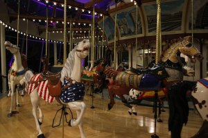 The Euclid Beach Grand Carousel at the Western Reserve Historical Society. Photo   Michael C. Butz