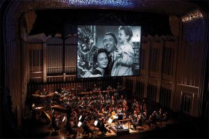 """At the Movies"" at Severance Hall. Photo 