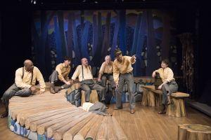 "The cast of ""1837: The Farmers' Revolt"". Photo | David Cooper"