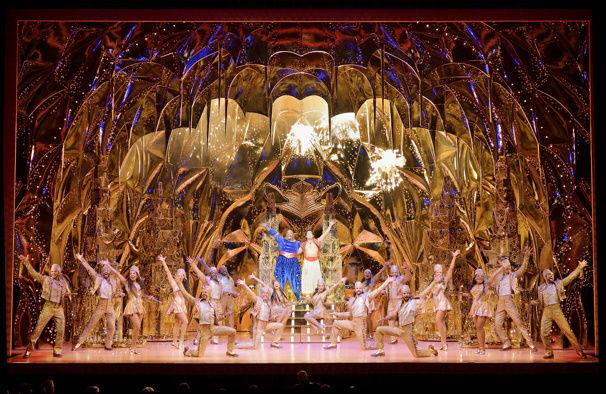 """The cast of """"Aladdin."""" Photo / Deen van Meer"""